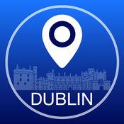 都柏林离线地图+城市指南导航,旅游和运输2.5