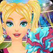 啦啦队长沙龙- 冰雪公主婚礼沙龙 -女孩子们的美容 换装游