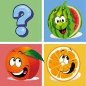水果匹配记住游戏学前教育匹配 1