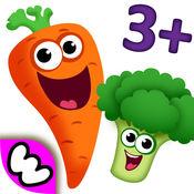 趣味食物2儿童游戏 - 最佳婴幼儿教育拼图应用