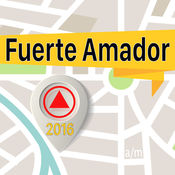 Fuerte Amador 离线地图导航和指南 1