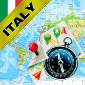 意大利,威尼斯,梵蒂冈 - 离线地图和GPS导航仪