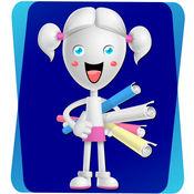 数学和数字教育游戏的孩子:学前班和幼儿园 - 轻松自由!