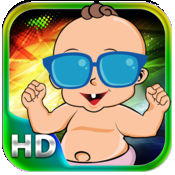 跳舞宝贝:超可爱的策略游戏 HD 免费版本 1
