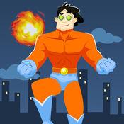 超级英雄跳跃躲避障碍物为孩子们免费游戏 2