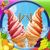冰淇淋制造商 - 烹饪点心师傅及游戏