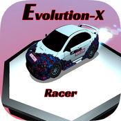 演变X地平线赛车涡轮增压:极限赛车3D免费游戏 1