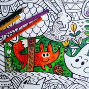 艺术家着色 - 成人的着色艺术书