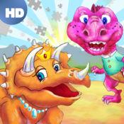 恐龙王国彩色拼图 HD ™