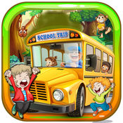 学校旅行的乐趣 - 小露营车巴士的冒险 1