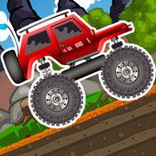 4*4 Monster Truck Hill Climb Racing : 疯狂赛车手 2 免
