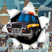 警车驾驶游戏