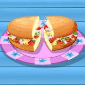 阿Sue做墨西哥三明治