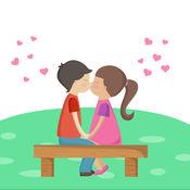 最好的情人相框,情人节照片网格