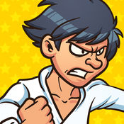空手道忍者 - 最佳游戏真正的功夫大师