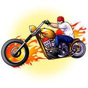 飞驰的摩托