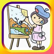 著色遊戲 画画涂色 幼儿园园长培训 游戏与学习