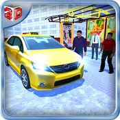 越野出租车汽车模拟器&疯狂的山驾驶 1