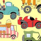 小孩子的车和卡车