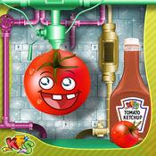 番茄酱厂 - 让狂欢的食物在这个烹饪狂热游戏的孩子