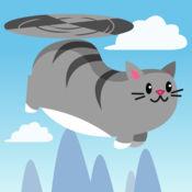 飞天直升机猫