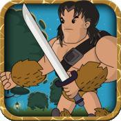 中世纪野蛮人亚军 - 趣味收集平台游戏 免费 1