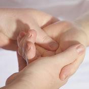 强有力的手按摩器 - 振动器手部按摩
