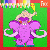 灭绝的动物可爱艺术垫 : 学习绘画和绘图着色页面可打印为孩子们免费