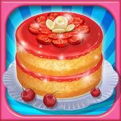宝贝学烹饪:草莓慕斯蛋糕