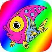 海洋动物为孩子们着色书 1.0.0