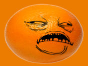 暴走的橙仔贴纸