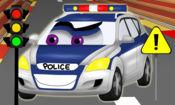 汽车道路迷宫 - 游戏的孩子