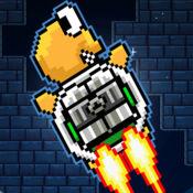 龟龟爱钻缝-越难火箭喷射飞行游戏