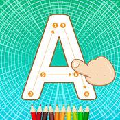 ABC字母跟踪儿童