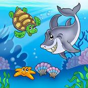 吞吞鱼海底世界-早教-儿童游戏