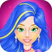 舞会之夜化妆和化妆游戏 - 舞会礼服游戏的女孩