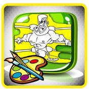 图画书(体育):着色页与学习教育游戏为孩子们免费! 1