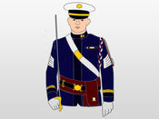军用贴纸:陆军,空军,海军陆战队 1