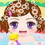 可爱宝宝爱洗澡 ...