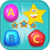 配对游戏 儿童游戏免费游戏 ABC Match Free for Kids 1