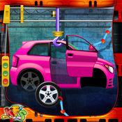 汽车工厂 - 汽车整车建筑和技工游戏