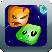 破产令人敬畏的匹配 3 狂热游戏粉碎的外星人免费的外星人