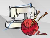 编织和手工艺贴纸