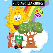 ABC学习的孩子和...