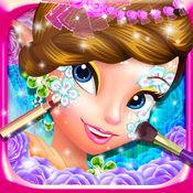精灵公主的面部彩绘