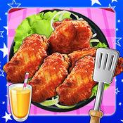 炸鸡翅膀制造商 - 嘉年华食物的乐趣