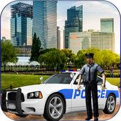 警车模拟器 - 警察驾驶的车辆在这个模拟驾驶游戏 1