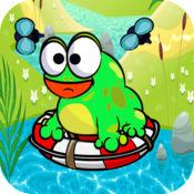 饥饿的青蛙抓住飞行 1.5