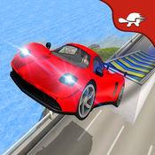 真正的喷气赛车特技