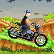 怪物Dirtbike山爬坡 - 无畏和恩帝漂流运动!
